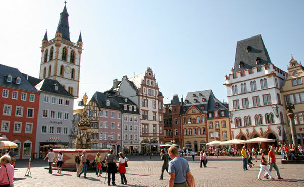 Market Square, Trier, Germany
