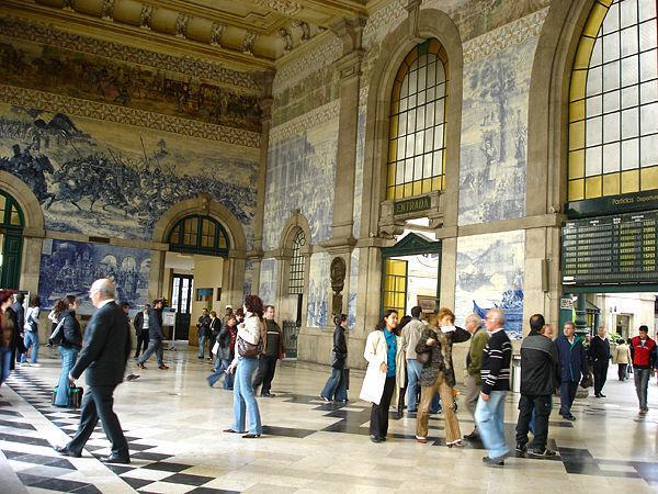 São Bento train station, Porto, Portugal