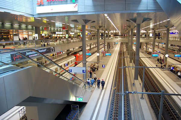 Berlin Hauptbahnhof, Germany