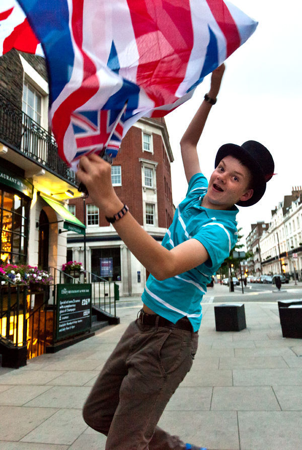 British pride, London, England