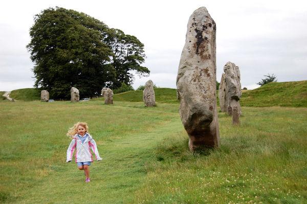 Stone circle, Avebury, England