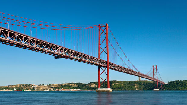 25th of April Bridge, Lisbon, Portugal