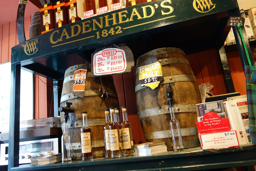 Cadenhead's Whisky Shop, Edinburgh, Scotland