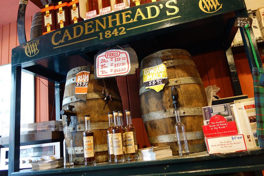 Cadenhead's Whisky Shop, Edinburgh, Scotland