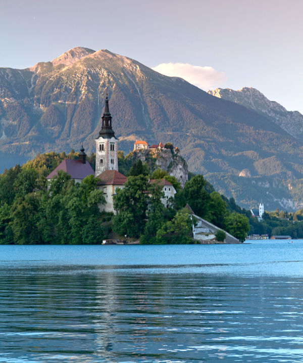 Blejski Otok and Lake Bled, Slovenia