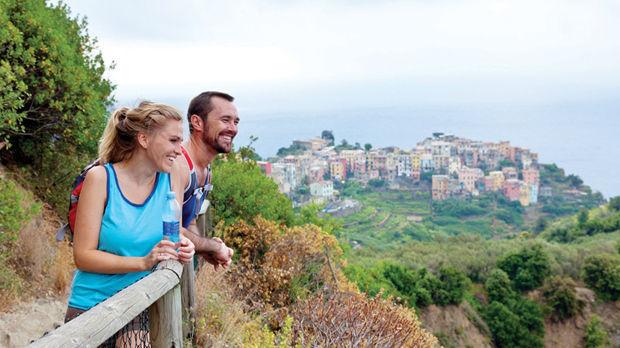 Hiking near Corniglia (Cinque Terre), Italy