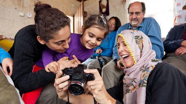 Family fun in Cappadocia, Turkey