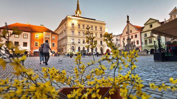 Main Square, Český Krumlov, Czech Republic