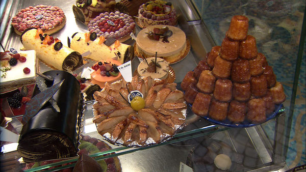 Pastry counter, Paris, France