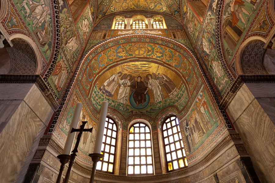 Basilica di San Vitale mosaics, Ravenna, Italy