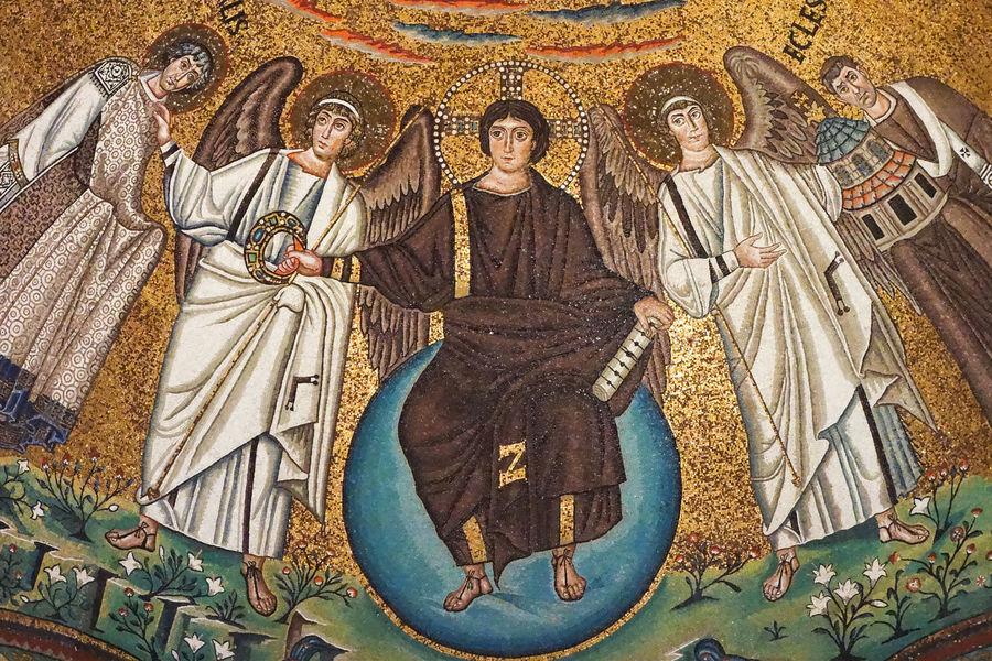 Basilica di San Vitale mosaic, Ravenna, Italy