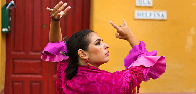 Flamenco dancer, Sevilla, Spain