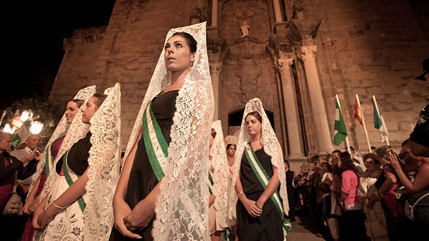 Feria procession, Tarifa, Spain