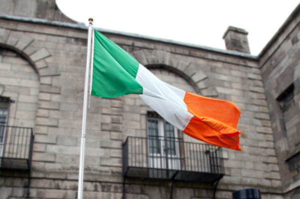 Irish flag, Waterford, Ireland