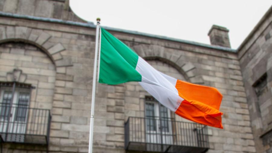 Irish flag, Waterford, Ireland