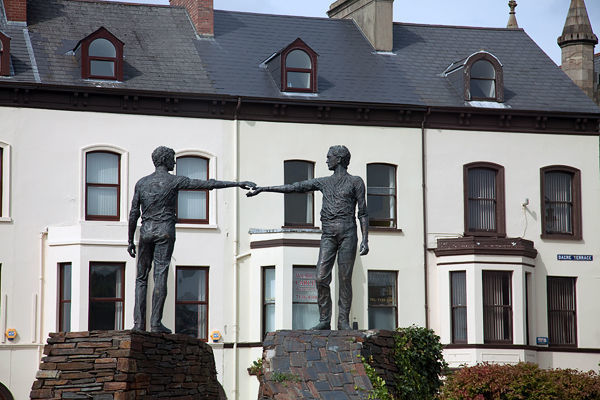 Hands Across the Divide monument, Derry, Northern Ireland