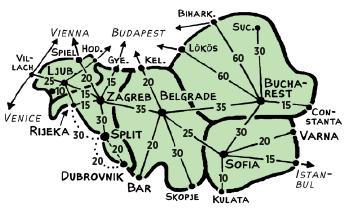 TrainTicket CostEstimate Maps