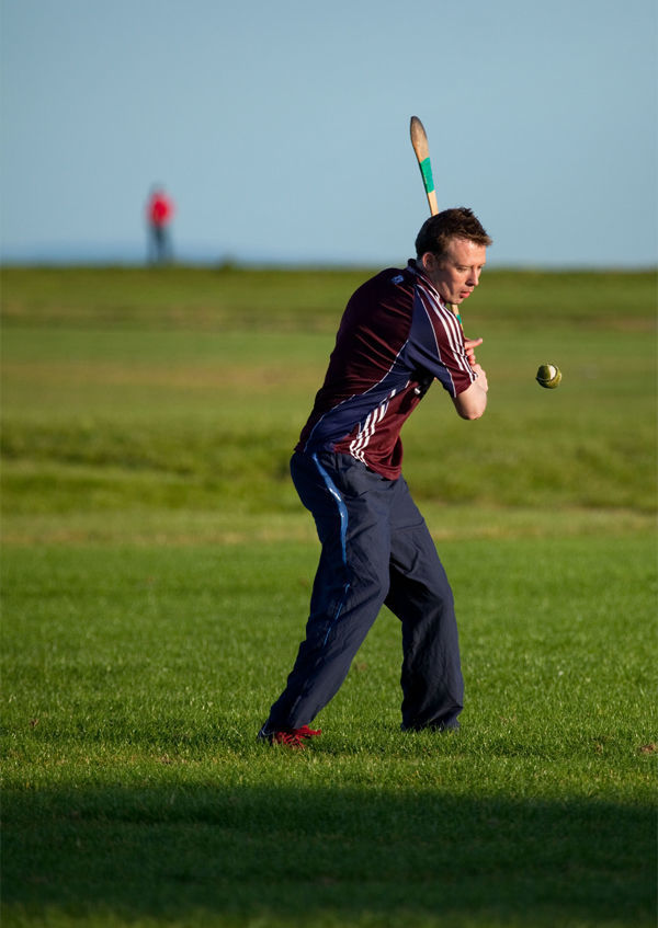 Hurling player, Galway, Ireland