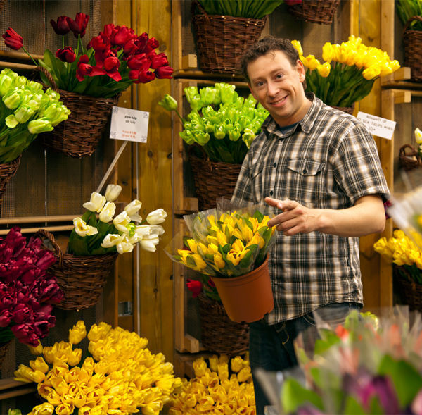 Flower stand, Amsterdam, Netherlands