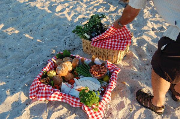 Beach picnic, Ærø, Denmark
