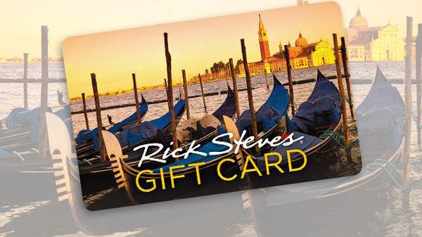Rick Steves Gift Card