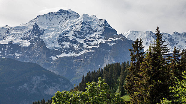 Jungfrau peak, Berner Oberland, Switzerland