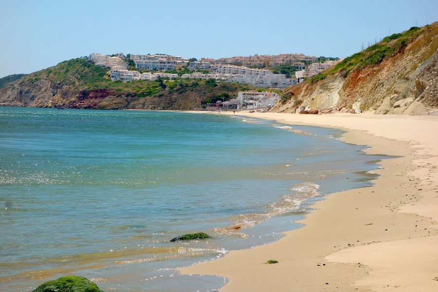 Beach in Salema, Portugal