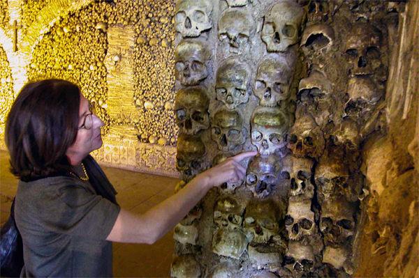 Chapel of Bones at Church of St. Francis, Évora, Portugal