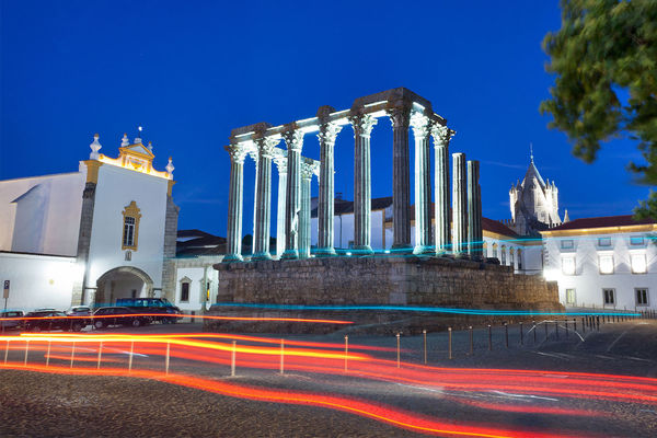 Roman Temple, Évora, Portugal