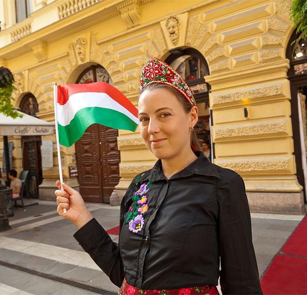 Celebrating St. István's Day in Budapest, Hungary