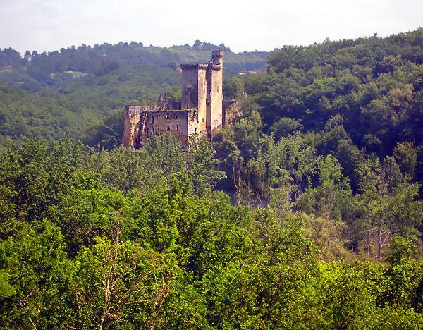 Château de Commarque, Dordogne, France