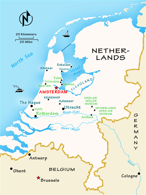 Where to Go in the Netherlands by Rick Steves