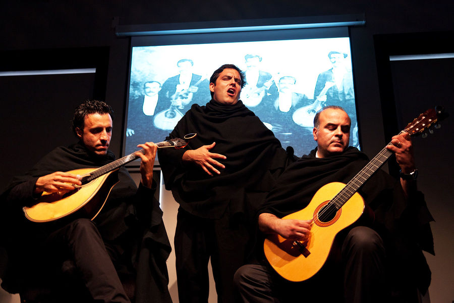 Fado performance, Coimbra, Portugal