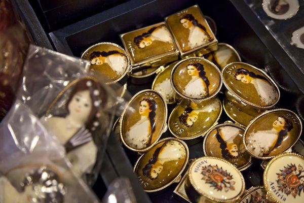 Empress Sisi souvenirs, Hofburg Palace, Vienna, Austria