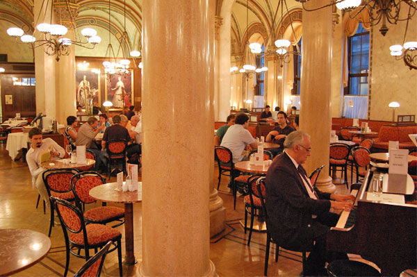 Café Central, Vienna, Austria