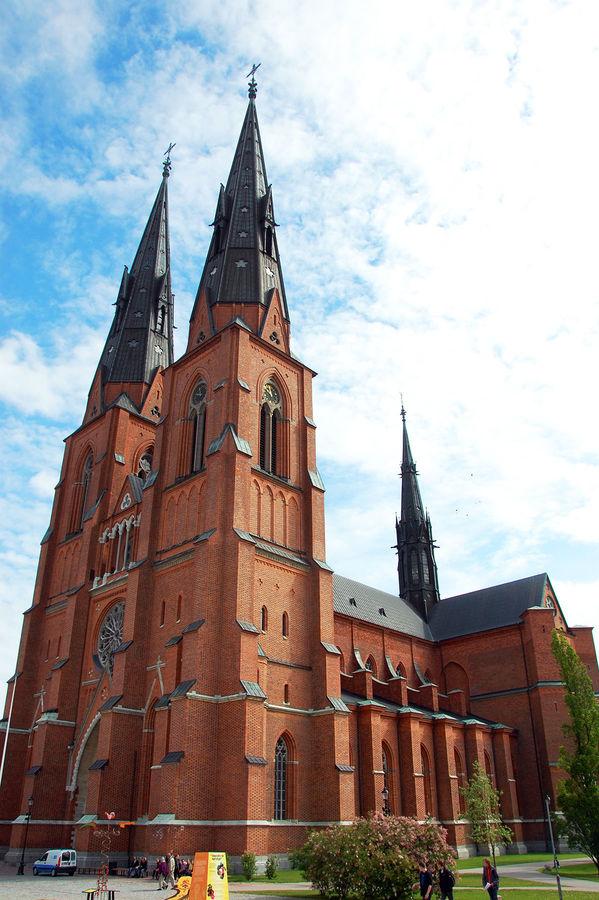 Uppsala Cathedral, Uppsala, Sweden
