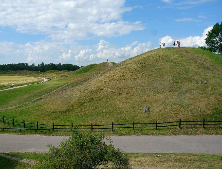 Gamla Uppsala burial mounds, Uppsala, Sweden