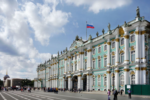 Winter Palace (Hermitage Museum), St. Petersburg, Russia