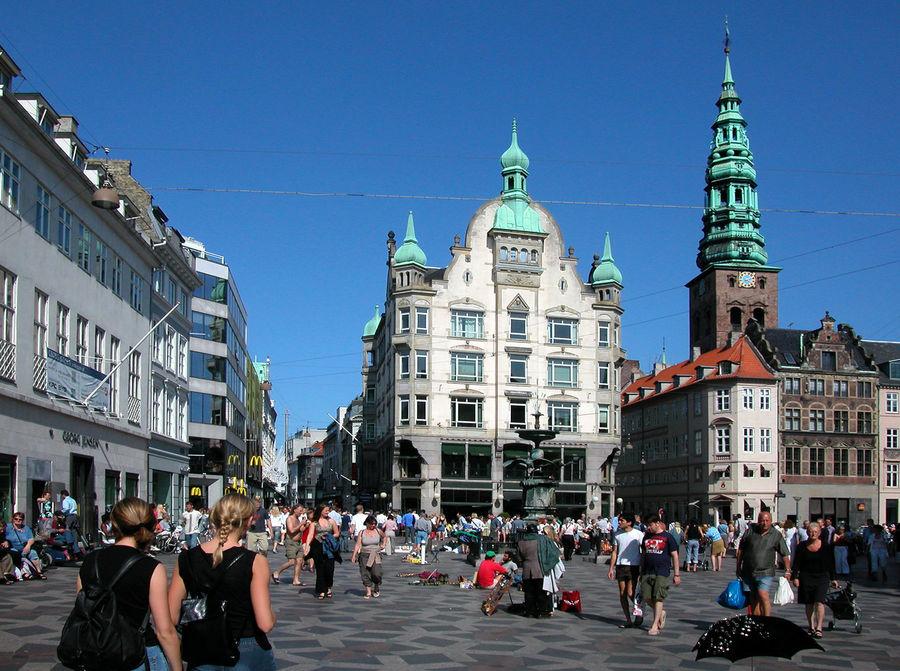 The Strøget, Copenhagen, Denmark
