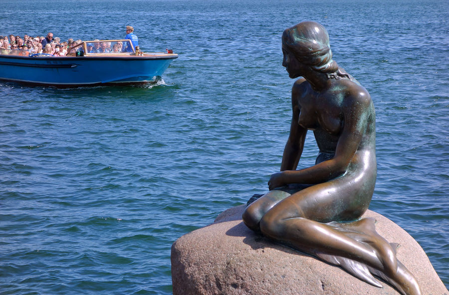 'The Little Mermaid' statue, Copenhagen, Denmark