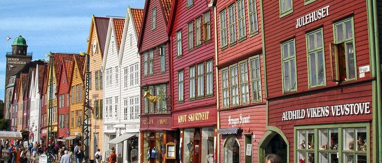 Bryggen quarter, Bergen, Norway