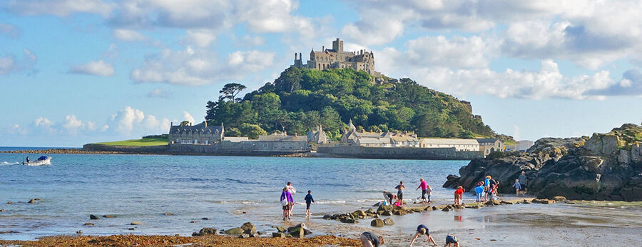 St. Michael's Mount, Cornish coast, England