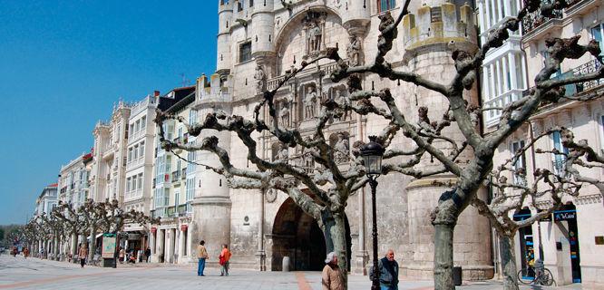 Arco de Santa María, Burgos, Spain