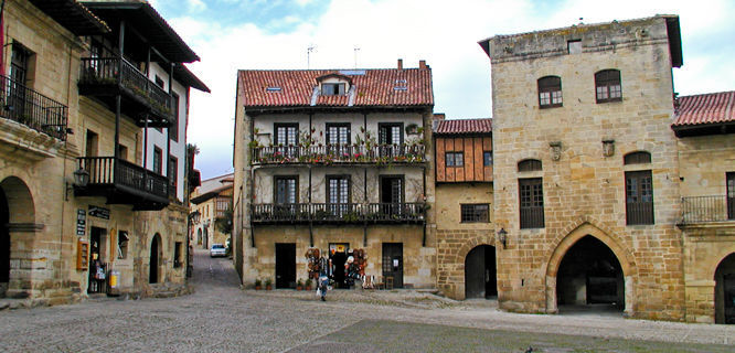 Plaza Mayor, Santillana del Mar, Spain