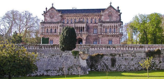 Palacio de Sobrellano, Comillas, Spain