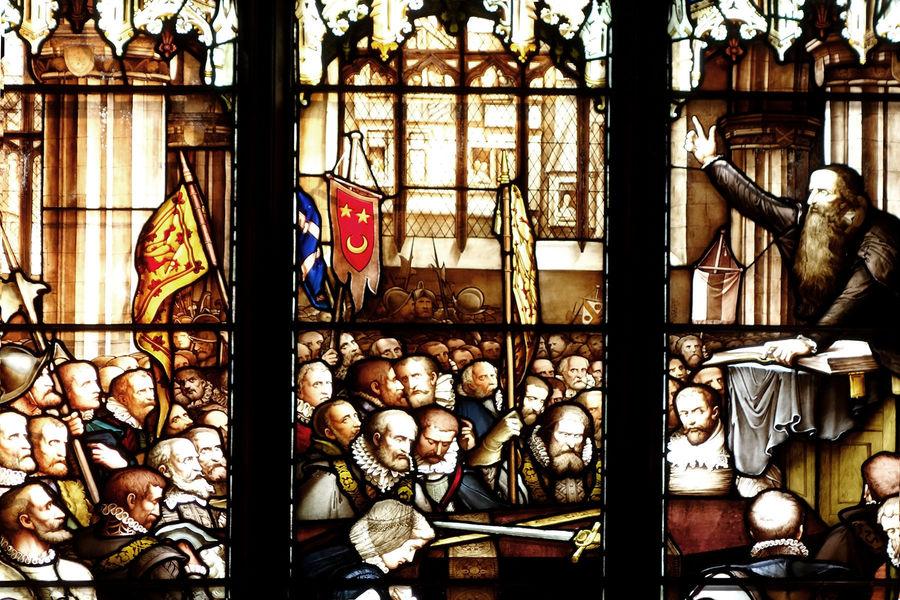 John Knox window, St. Giles' Cathedral, Edinburgh, Scotland