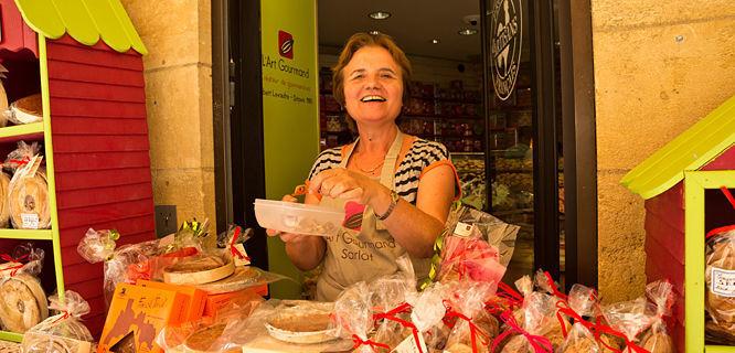 Pastry shop, Sarlat-la-Canéda, France