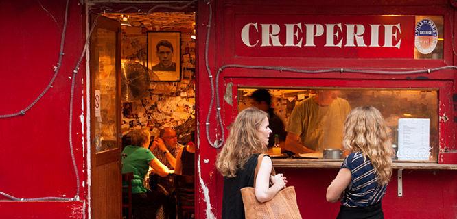 Crêperie, Paris, France