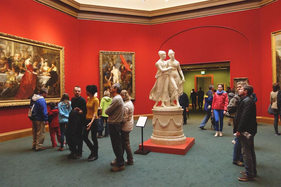 Scottish National Gallery, Edinburgh, Scotland