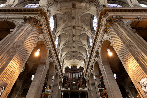 St. Sulpice Church, Paris, France